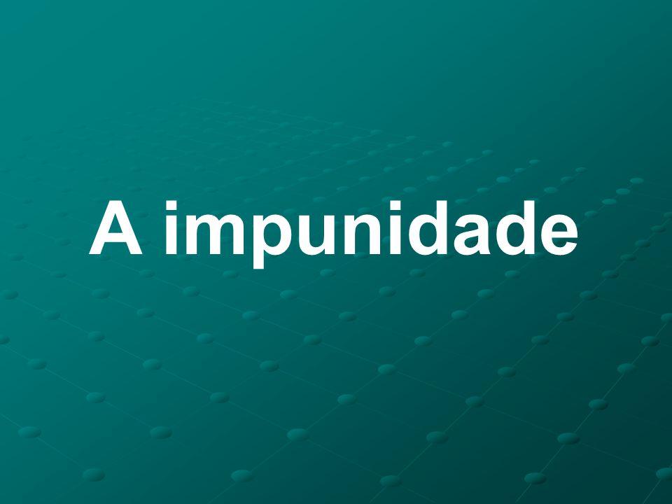 A impunidade