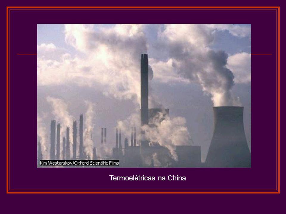 Termoelétricas na China