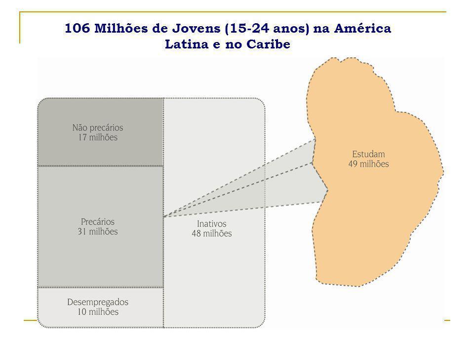 15 Jovens que não estudam e nem trabalham Brasil 2006 por Sexo e Raça Fonte: Elaboração própria a partir dos microdados da PNAD / IBGE 2006