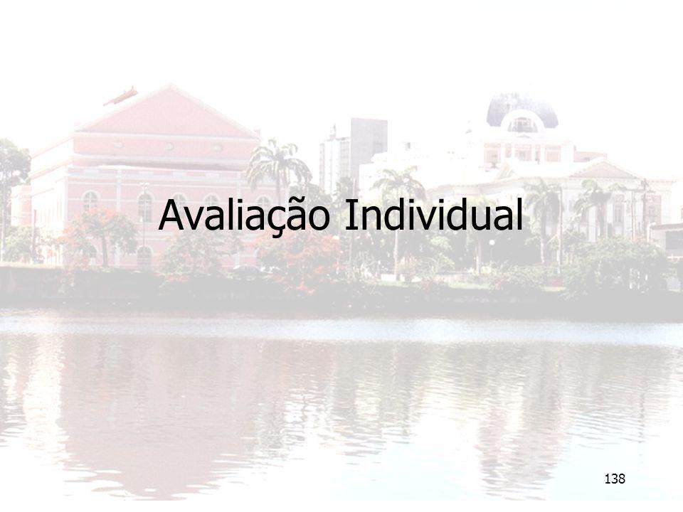 138 Avaliação Individual