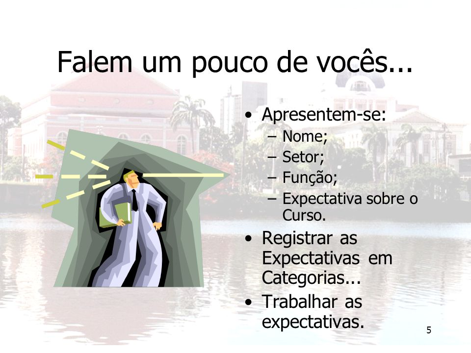 6 Registrar Expectativas