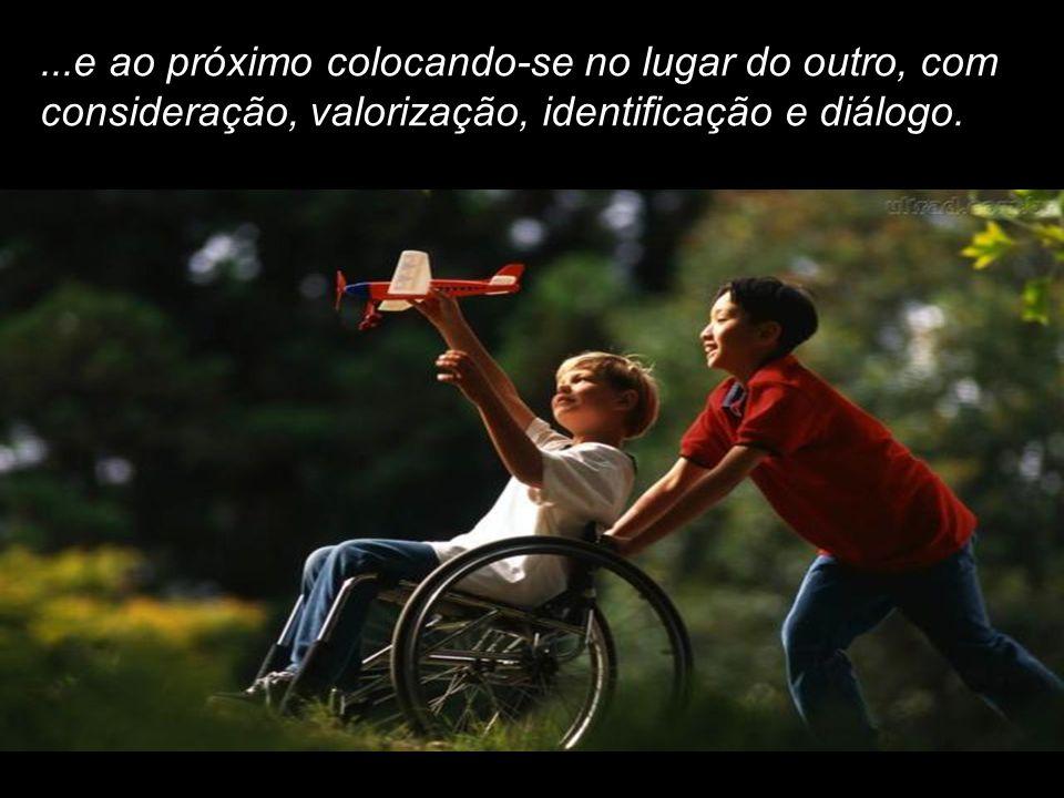 """GOSTAR DE SI – """"Somente os que se amam e conhecem seus potenciais valores e aptidões, olharão a vida..."""