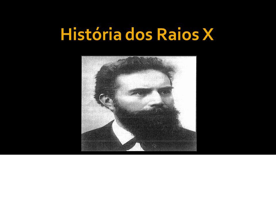 História dos Raios X 22 de dezembro de 1895, Röntgen fez a primeira radiografia da história.