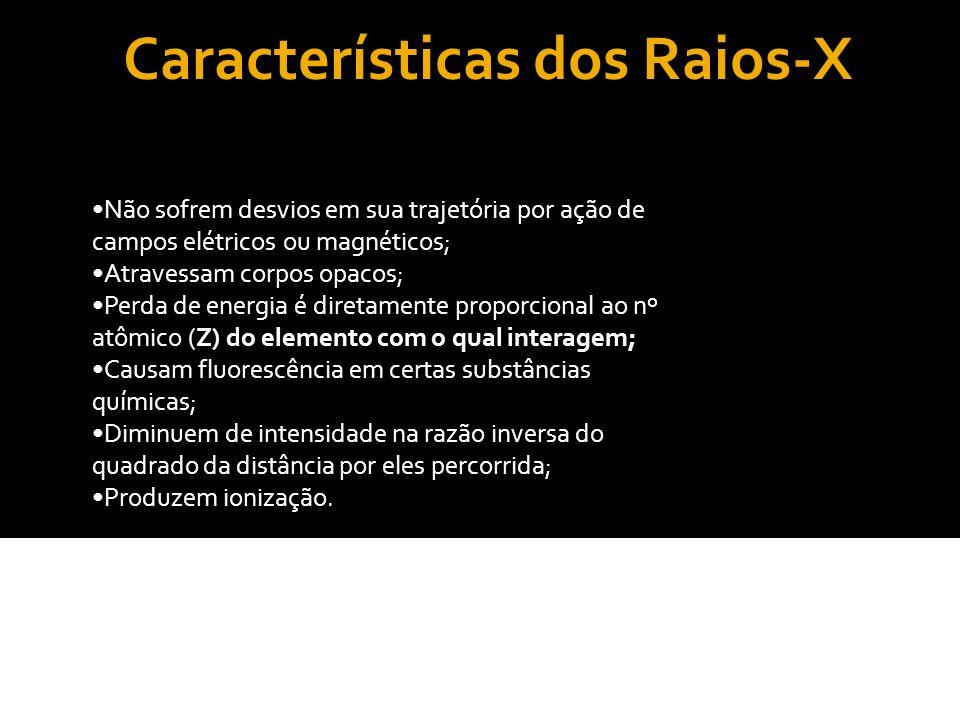 Formação dos Raios-X Os raios-x tem origem no choque de elétrons acelerados contra um obstáculo material(alvo).