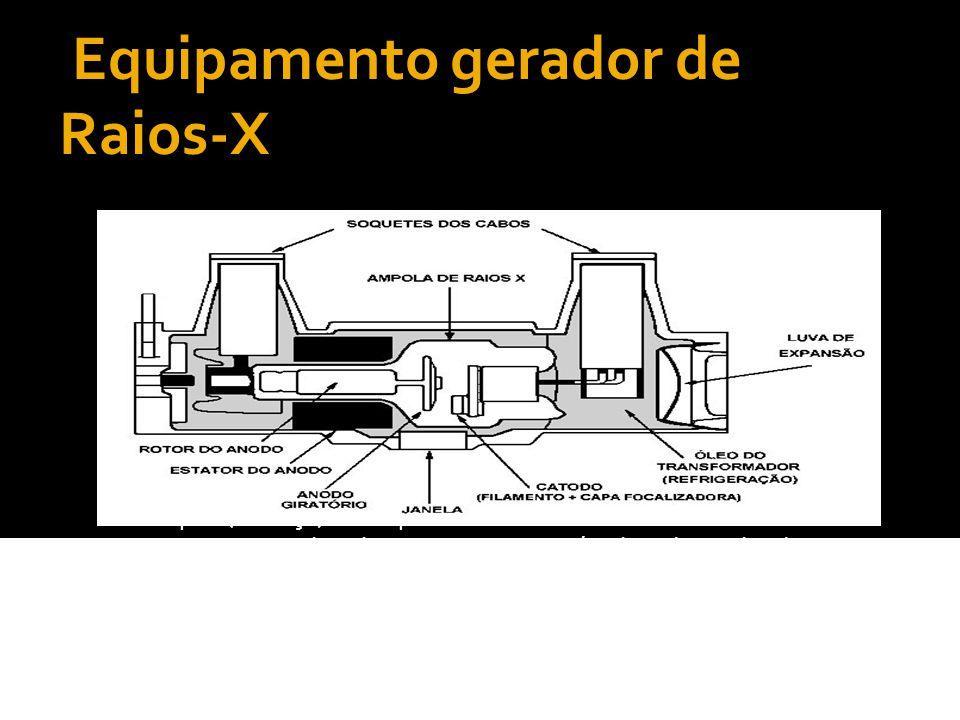 Catódio É responsável pela emissão dos elétrons.