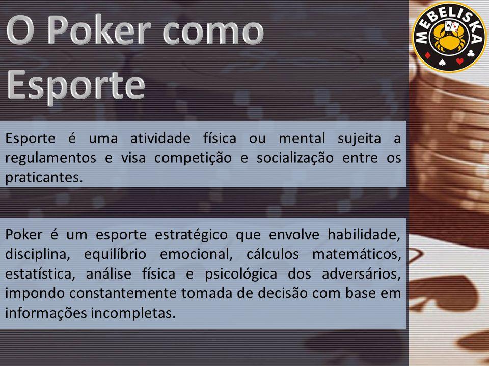 Esporte é uma atividade física ou mental sujeita a regulamentos e visa competição e socialização entre os praticantes.