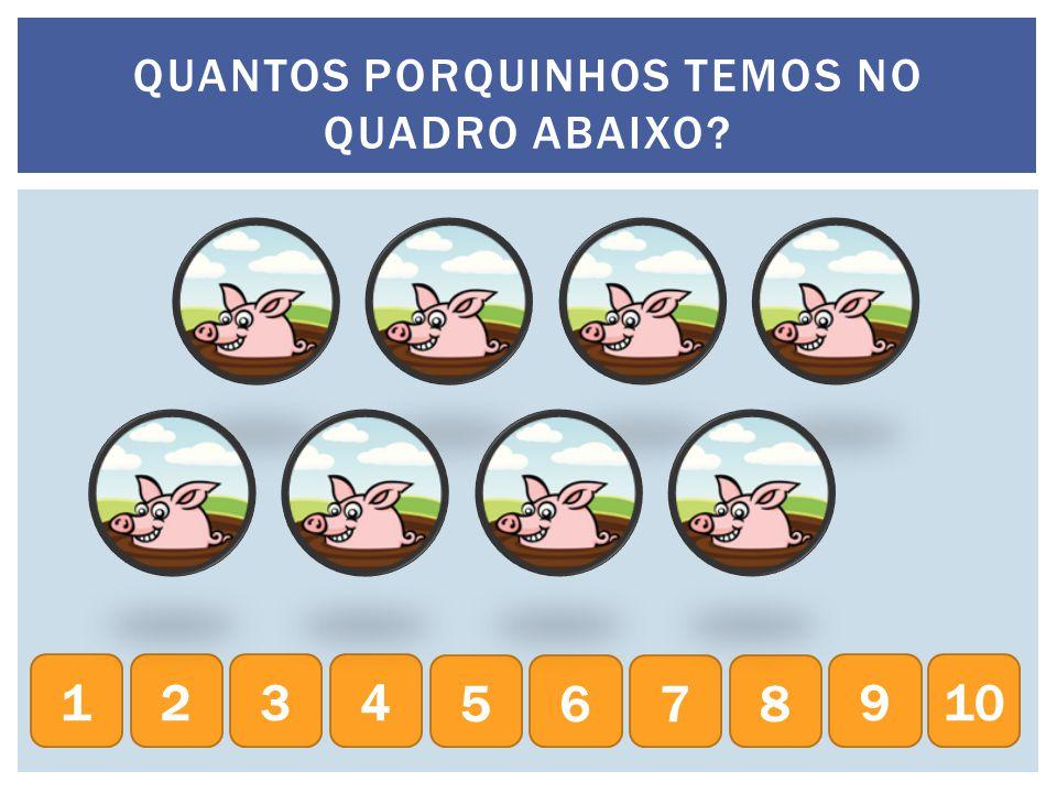 QUANTOS MACACOS TEMOS NO QUADRO ABAIXO? 234 5678 9101