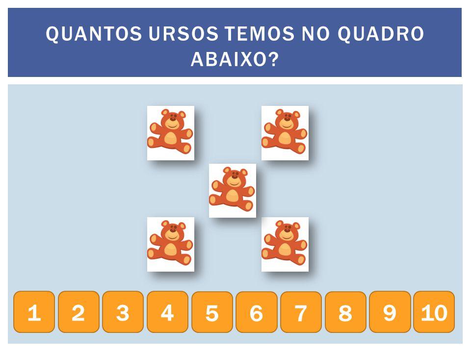 QUANTAS BONECAS TEMOS NO QUADRO ABAIXO? 234 5678 9101