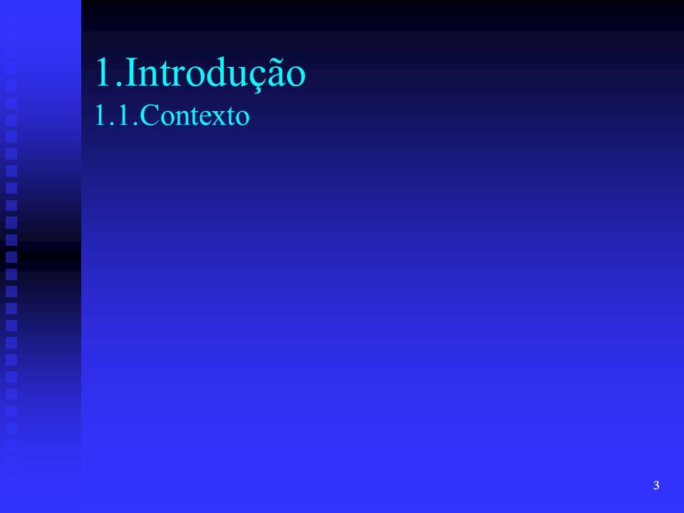 3 1.Introdução 1.1.Contexto