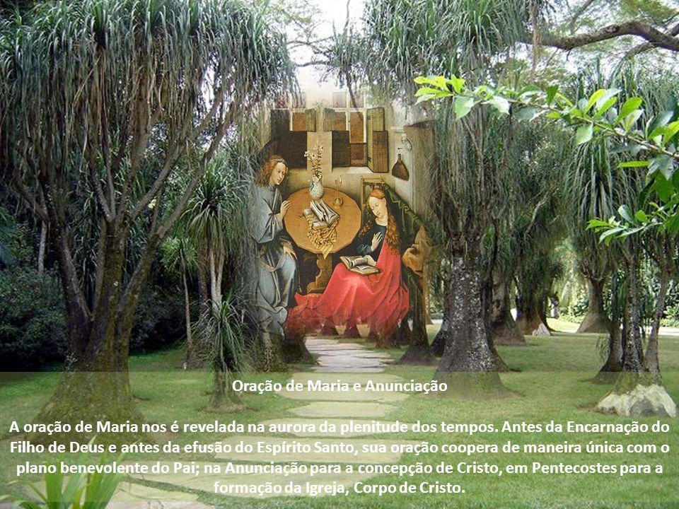 A partir do consentimento dado na fé por ocasião da Anunciação e mantido sem hesitação sob a cruz, a maternidade de Maria se estende aos irmãos e às i