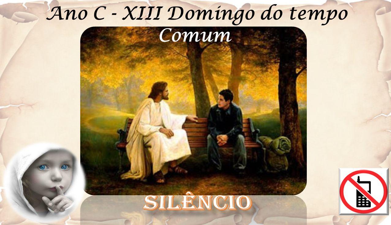 Ano C - XIII Domingo do tempo Comum