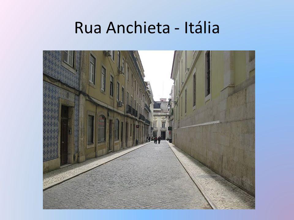 Rua Anchieta - Itália