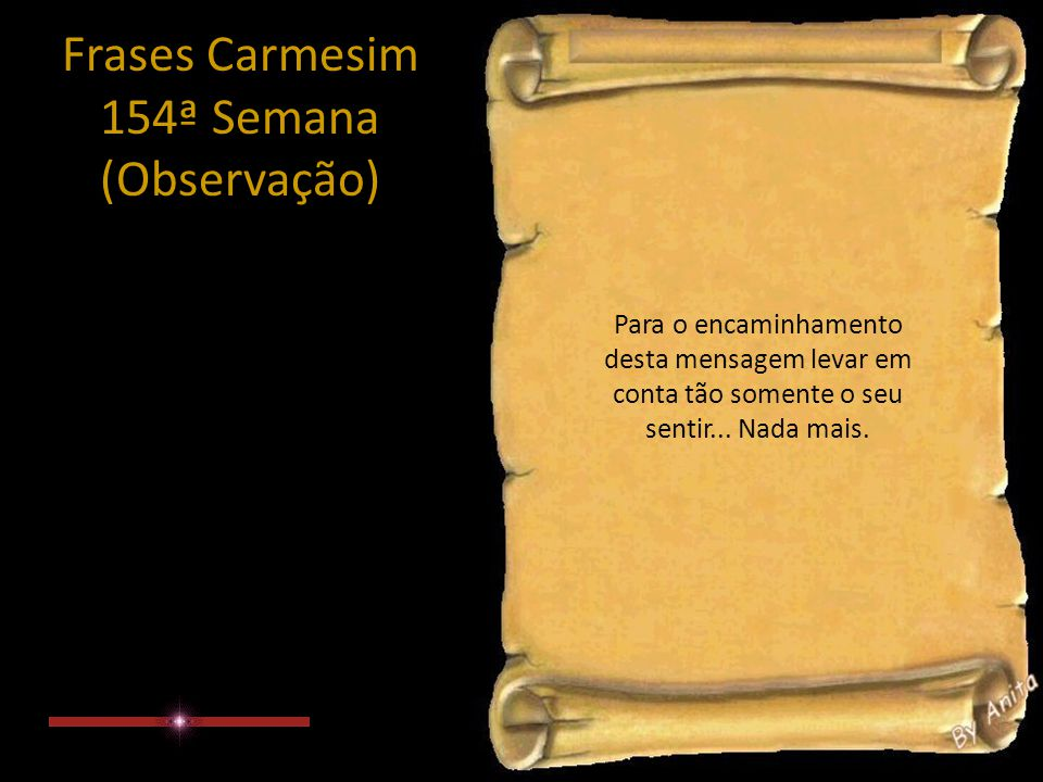 Frases Carmesim 154ª Semana (4/4)