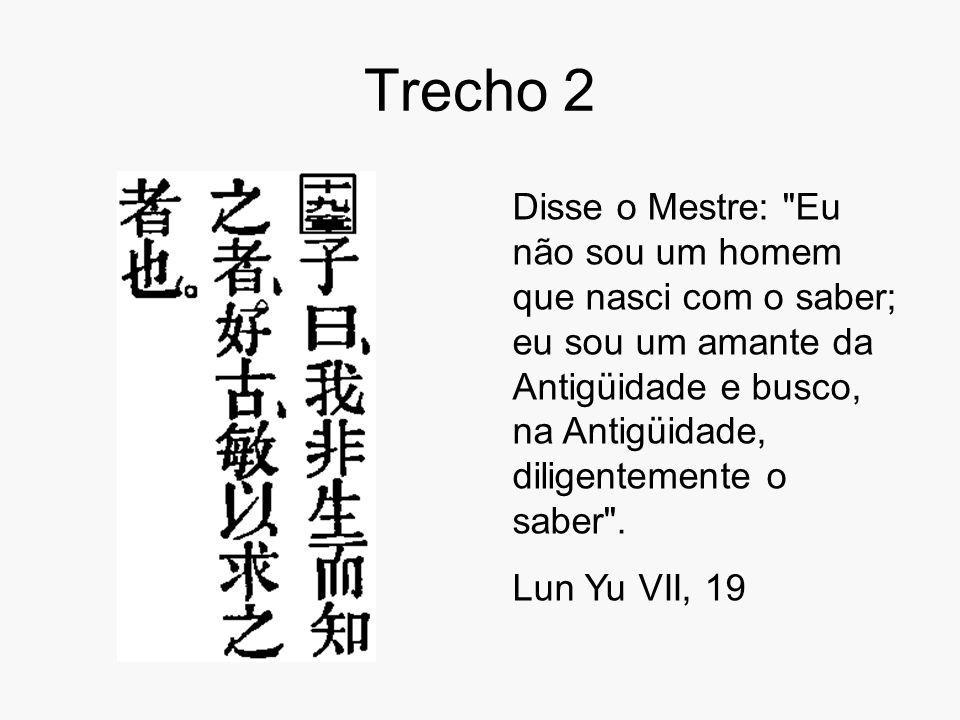 Trecho 2 Disse o Mestre: