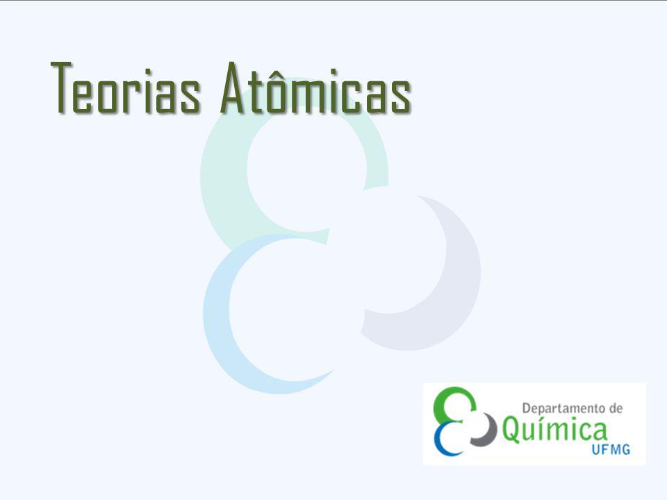 Existência de grandes vazios no átomo.Descoberta do núcleo (1911).