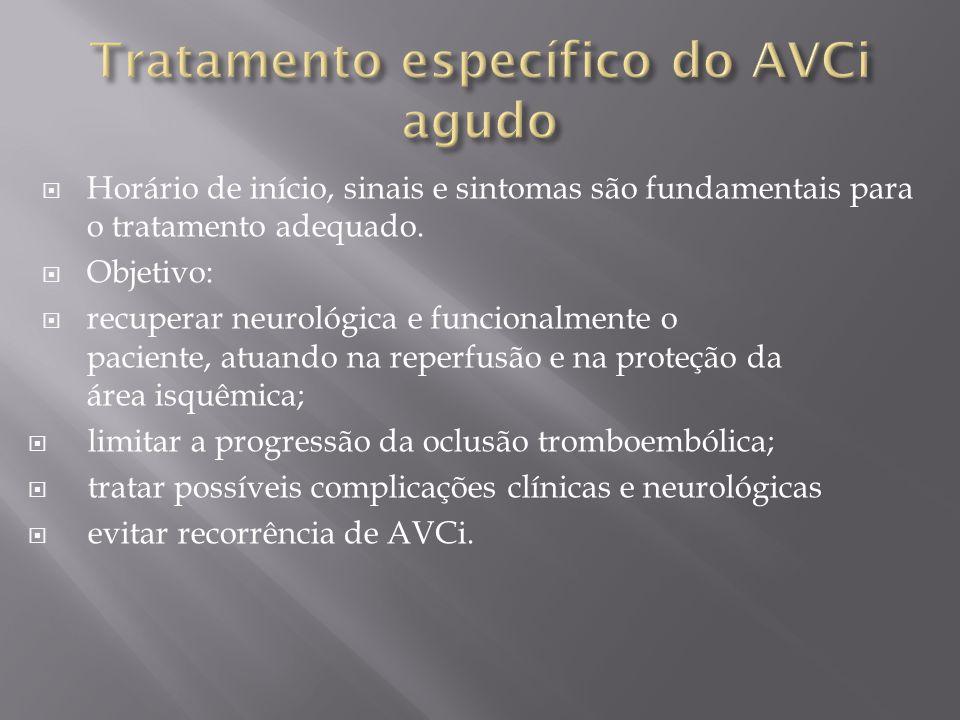  A intervenção precoce – com início até 30 dias pós- AVC – está fortemente relacionada à melhora funcional.