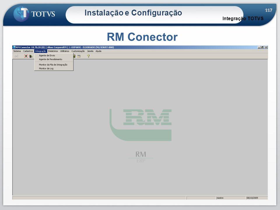 117 Instalação e Configuração RM Conector Integração TOTVS