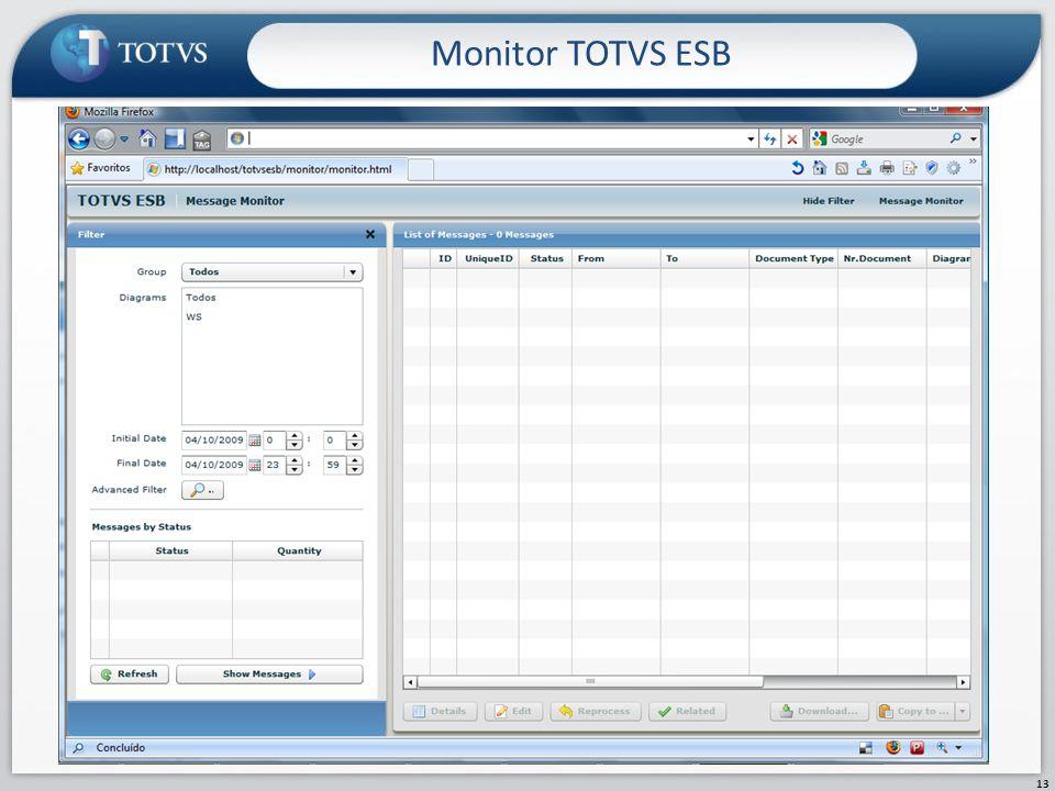 Monitor TOTVS ESB 13