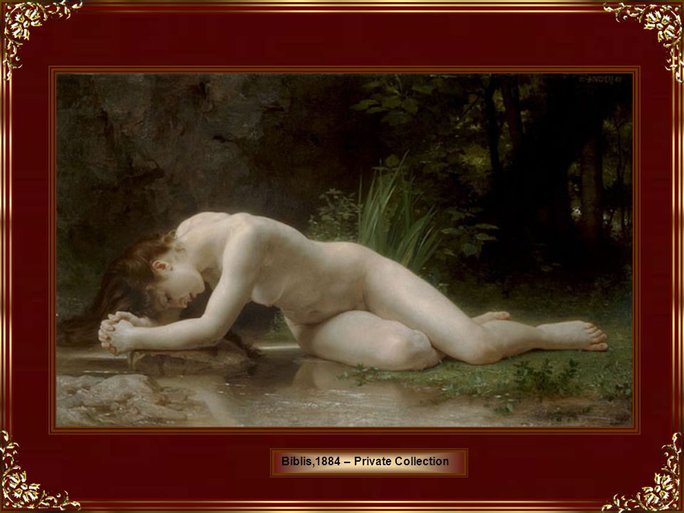 Biblis,1884 – Private Collection