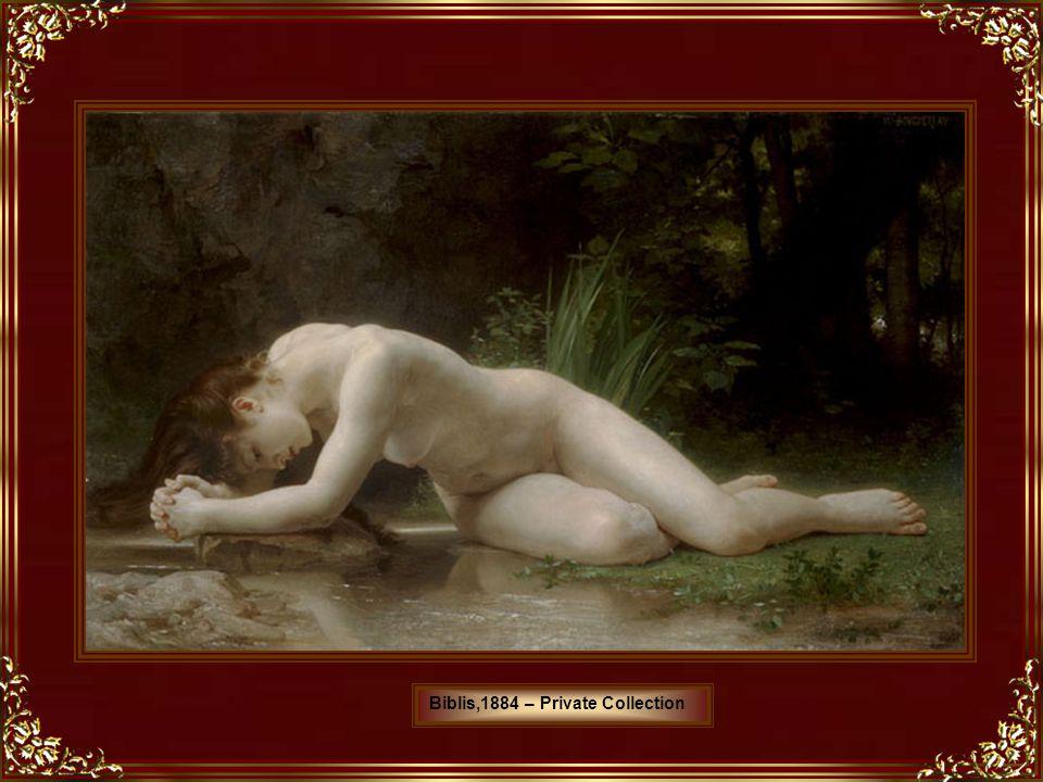 Pintor francês, Bouguereau nasceu e morreu em La Rochelle, onde, no jardim do seu estúdio, foi pintada grande parte de sua obra.