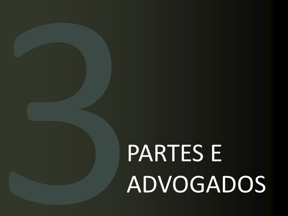 3 PARTES E ADVOGADOS