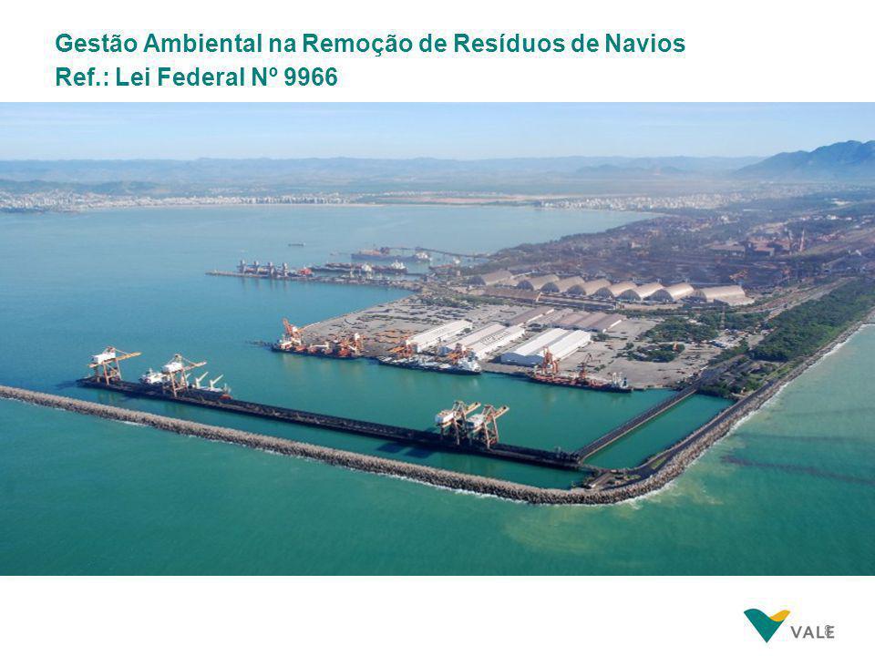 8 Gestão Ambiental na Remoção de Resíduos de Navios Ref.: Lei Federal Nº 9966