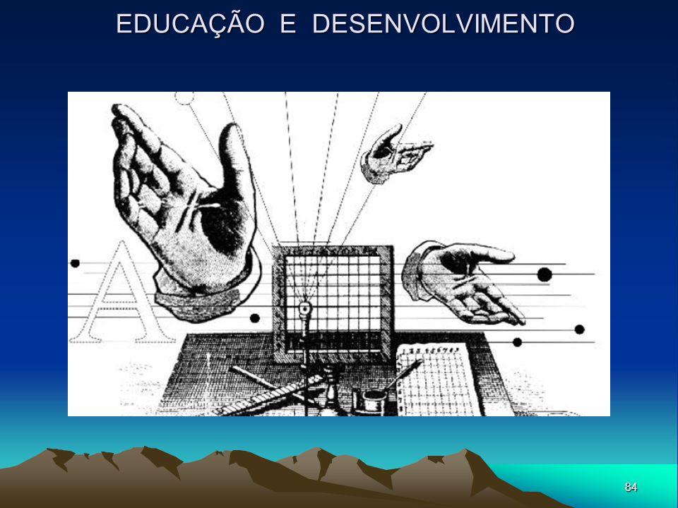 84 EDUCAÇÃO E DESENVOLVIMENTO