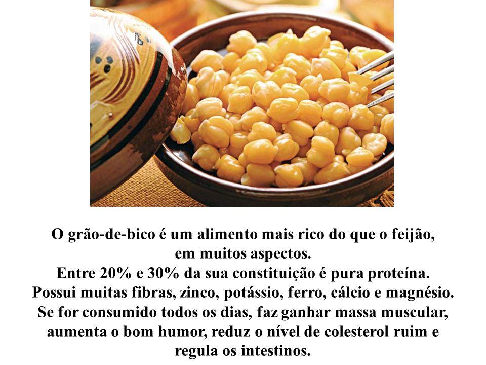 O GRÃO-DE-BICO… VALE OURO! PORQUÊ? By: Linito Manual