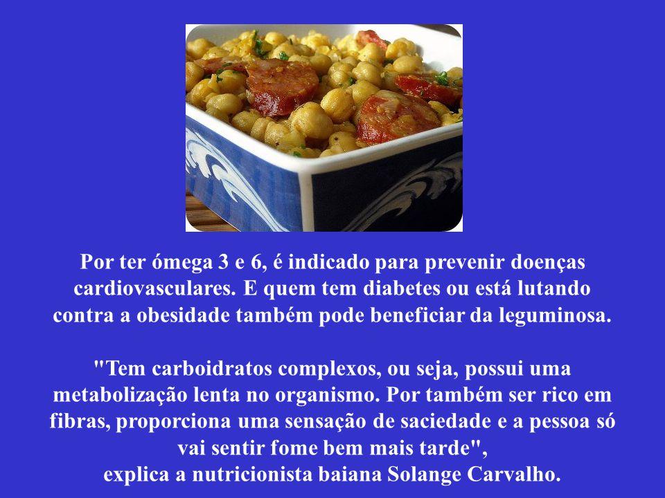 O GRÃO-DE-BICO VALE OURO! A sua qualidade mais famosa é a de gerar felicidade: possui mais triptofano do que o feijão, o mesmo aminoácido essencial qu