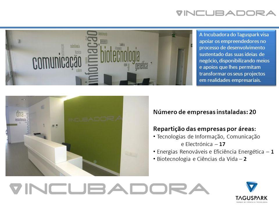 A Incubadora do Taguspark visa apoiar os empreendedores no processo de desenvolvimento sustentado das suas ideias de negócio, disponibilizando meios e apoios que lhes permitam transformar os seus projectos em realidades empresariais.