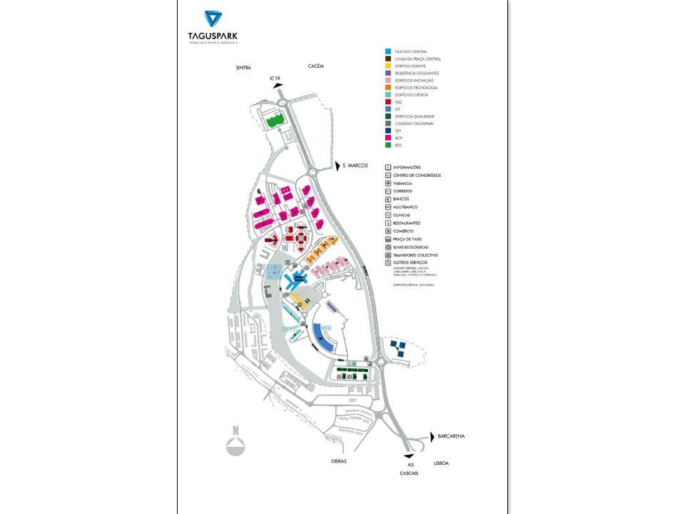ÁREAS DE ESCRITÓRIOS Uma zona Open Space para a fase de Pré- Incubação, equipada com mobiliário base.