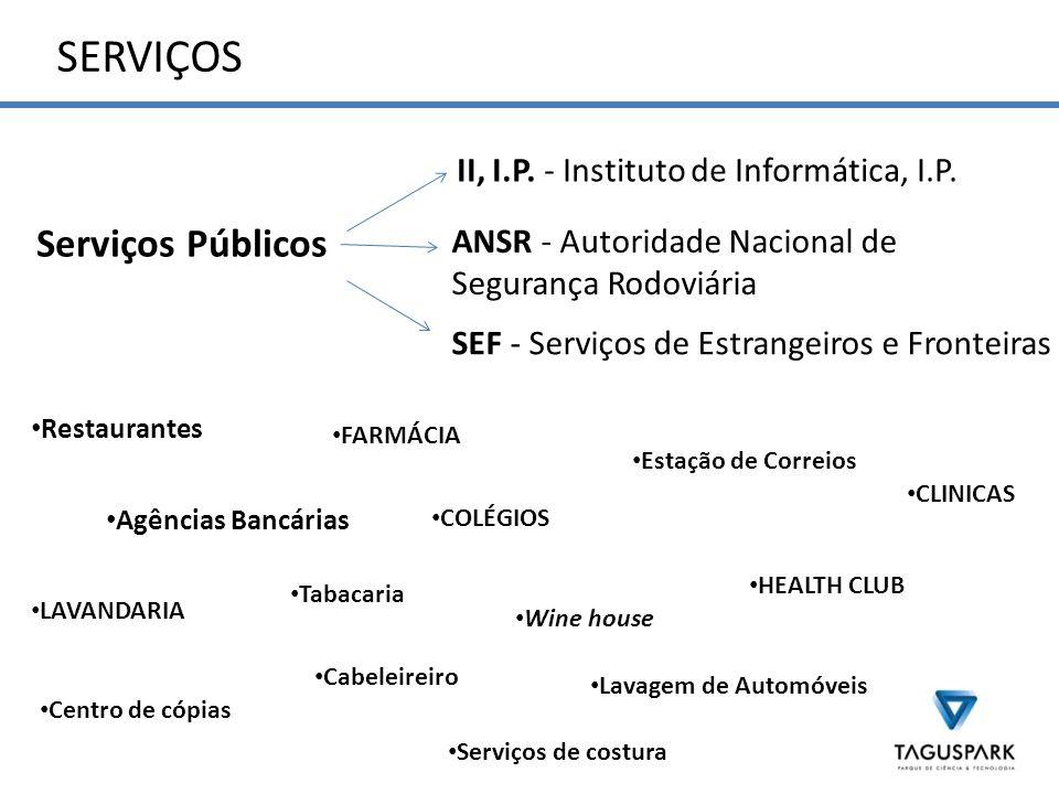 SERVIÇOS Serviços Públicos ANSR - Autoridade Nacional de Segurança Rodoviária II, I.P.