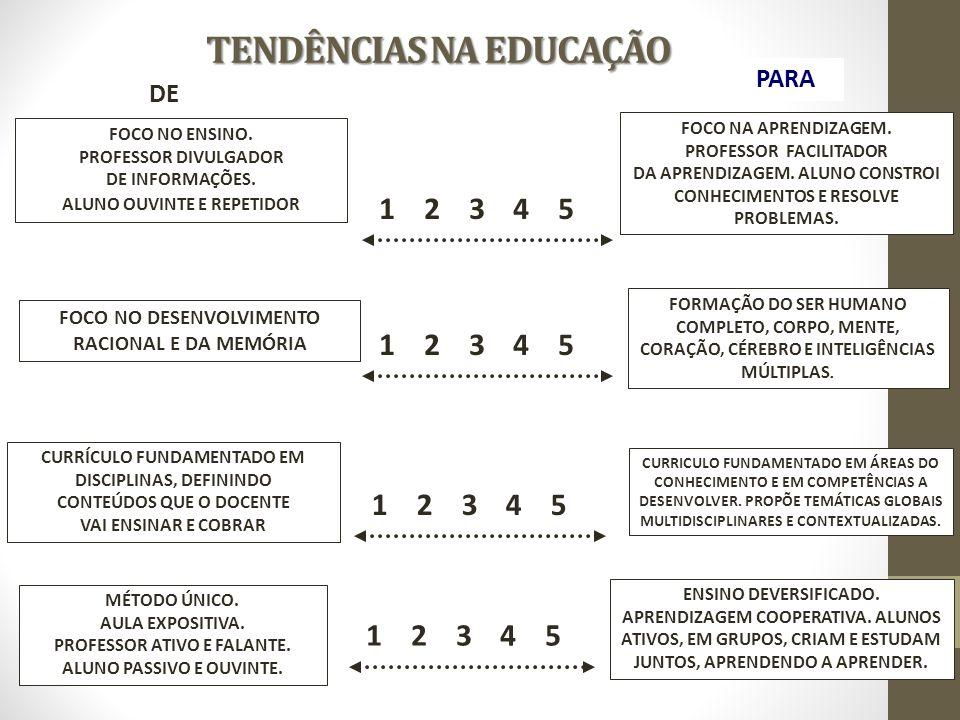 FOCO NO ENSINO.PROFESSOR DIVULGADOR DE INFORMAÇÕES.