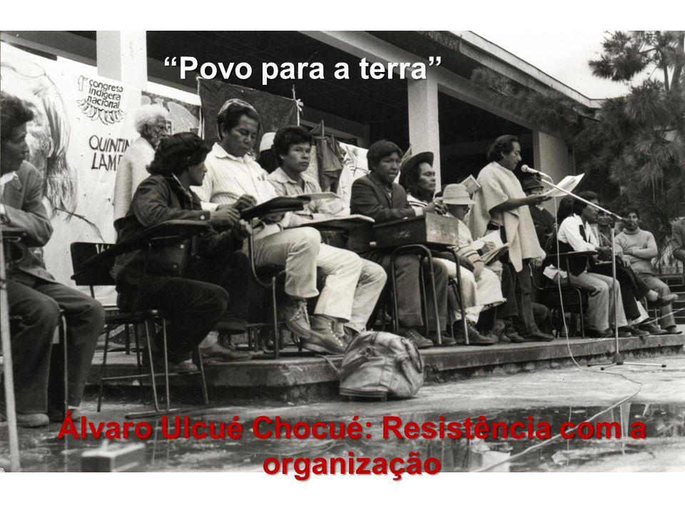 Álvaro Ulcué Chocué: Resistência com a organização Povo para a terra