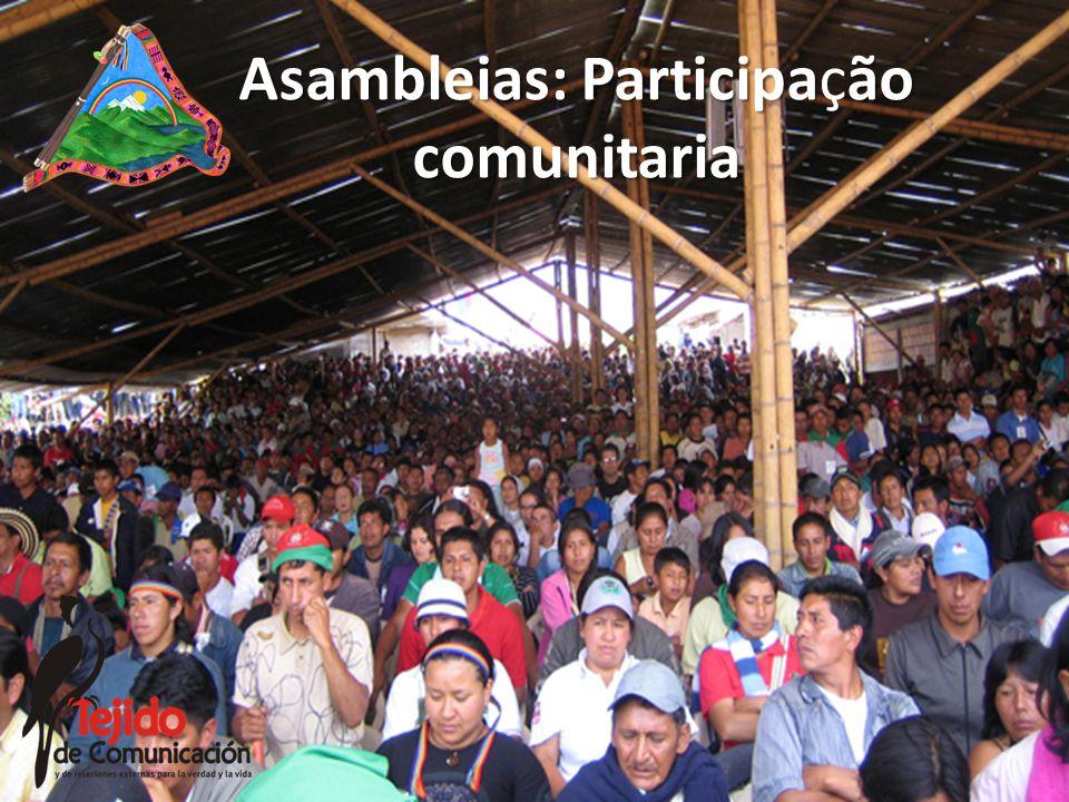 Asambleias: Participaão comunitaria Asambleias: Participação comunitaria