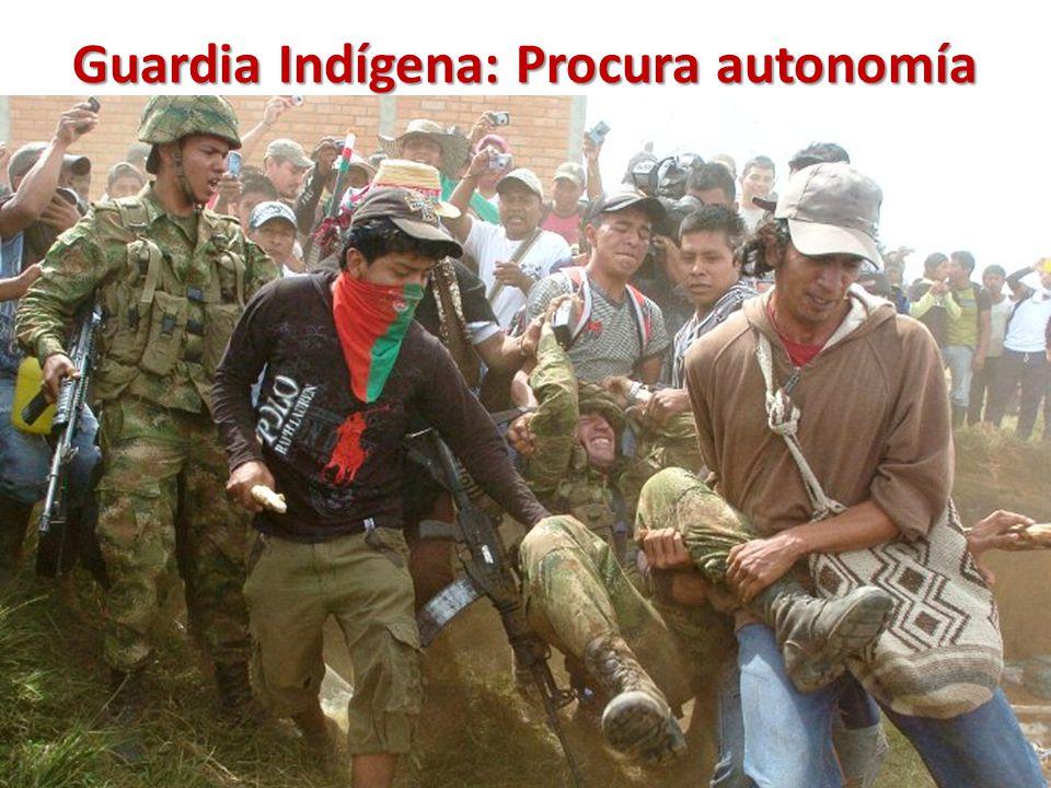 Guardia Indígena: Procura autonomía