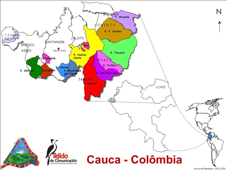 Centro de Planeación – ACIN 2.003 NORTE N TORIBIO R.