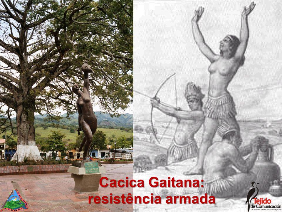 Cacica Gaitana: resistência armada
