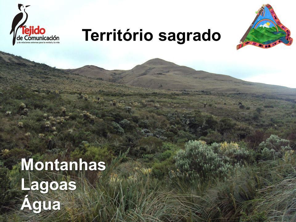 Território sagrado MontanhasLagoasÁgua