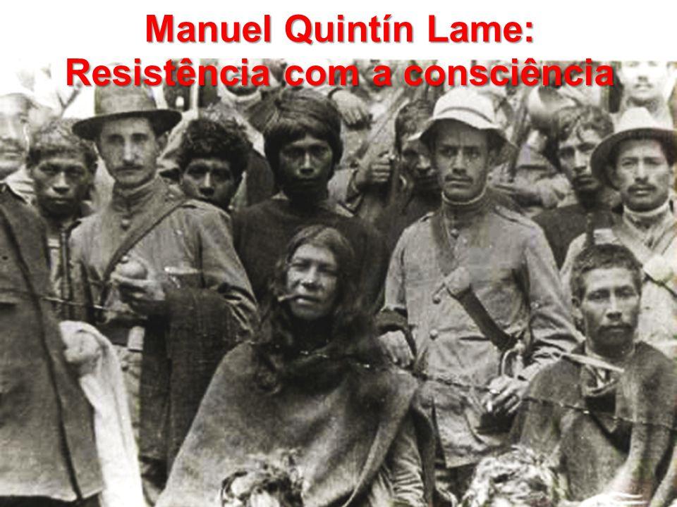 Manuel Quintín Lame: Resistência com a consciência