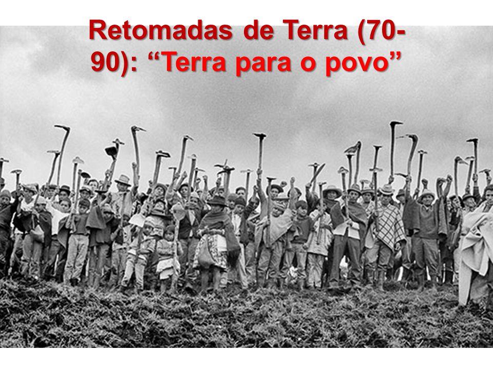 Retomadas de Terra (70- 90): Terra para o povo