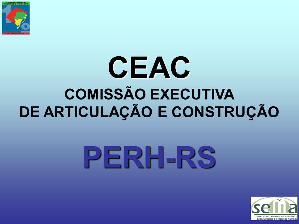 CEAC COMISSÃO EXECUTIVA DE ARTICULAÇÃO E CONSTRUÇÃOPERH-RS
