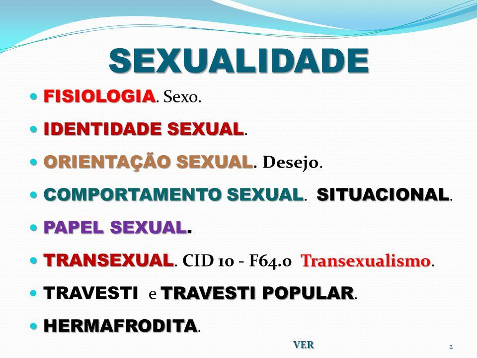 SEXUALIDADE FISIOLOGIA FISIOLOGIA.Sexo. IDENTIDADE SEXUAL IDENTIDADE SEXUAL.