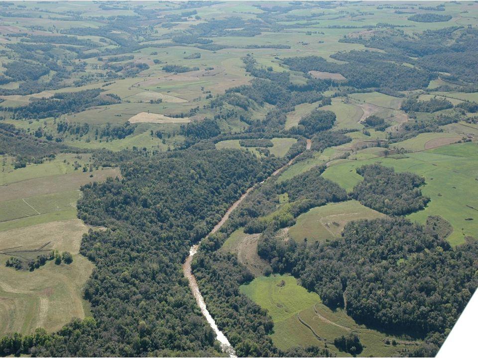 Áreas de Preservação Permanente (APP) - Limites Nascentes e olhos d'água perenes.