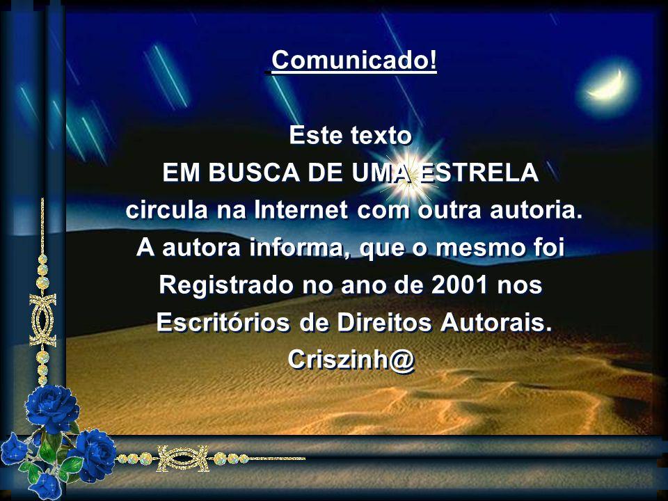 Formatação: ZzCoutoSlides http://www.zezecoutoslides.com/ Entre neste grupo clicando aqui: ZzCouto-Slides-subscribe@yahoogrupos.com.br Texto: Criszinh