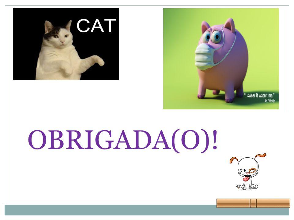 OBRIGADA(O)!