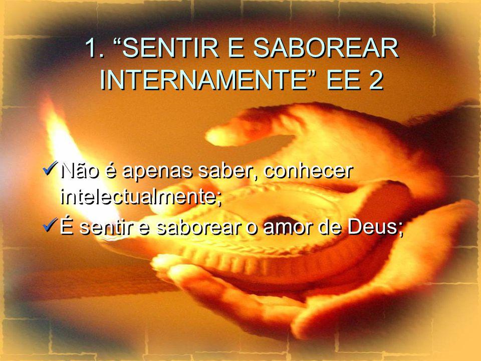 O foco de atenção da pessoa deve centrar-se na pessoa de Jesus.