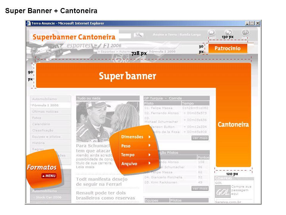 Super Banner + Cantoneira