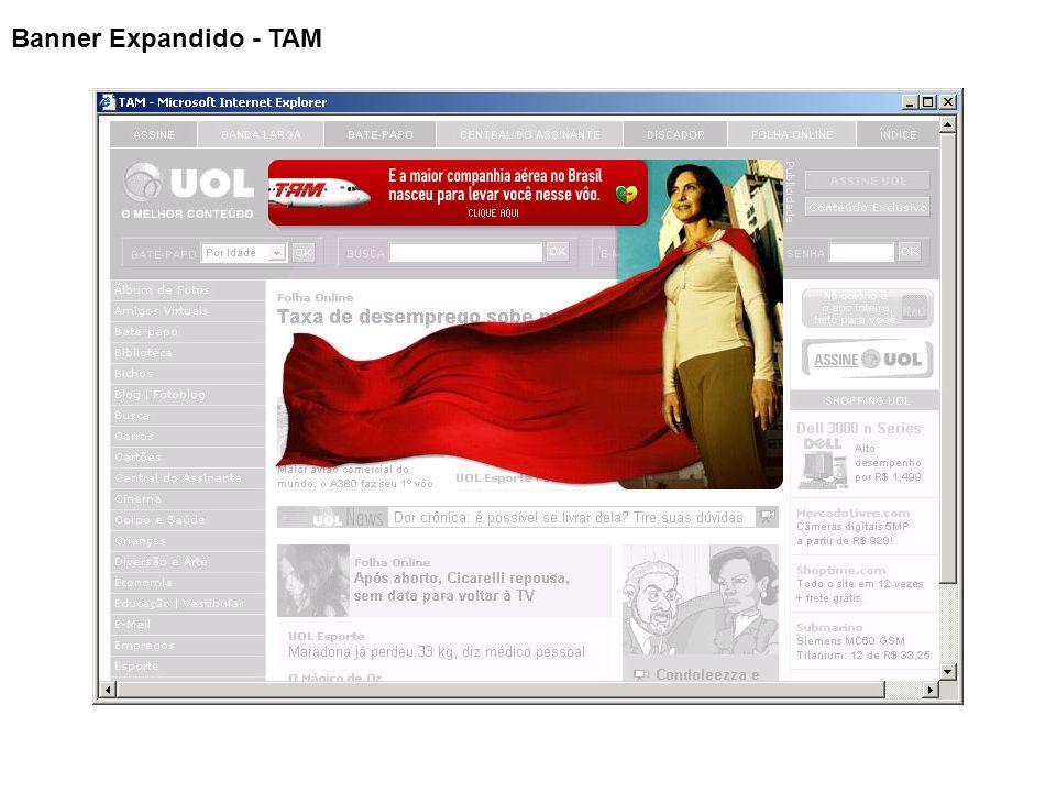 Banner Expandido - TAM