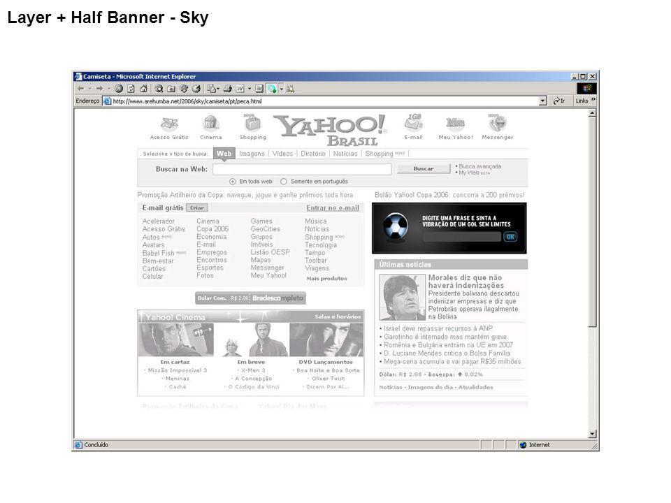 Layer + Half Banner - Sky